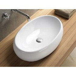Umywalka ceramiczna nablatowa Melania