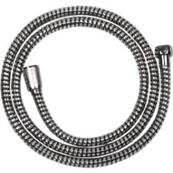 Wąż natryskowy AW-30-JT6 Chrom/Czarny Superflex Invena