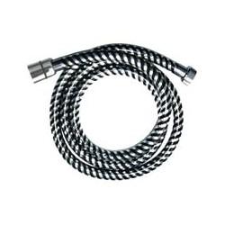 Wąż natryskowy 150 cm AW-30-J04 Biflex Chrom/Czarny Invena