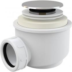 Syfon brodzikowy ⌀60 mm Click-clack chrom A466-50 Alcaplast