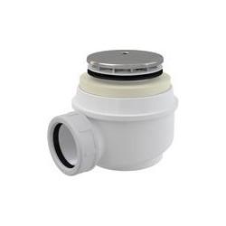 Syfon brodzikowy ⌀60 mm Click-clack chrom A47CR-50 Alcaplast