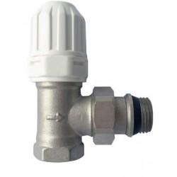 Zawór termostatyczny z regulowanym pokrętłem i samouszczelnieniem CD-50-K15 Invena