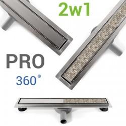 Odpływ liniowy 700 mm Neo&Pure PRO Rea