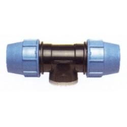 """Trójnik z odgałęzieniem mufowym(PE/Metal/PE) 20x1/2""""x20 PE-10-120 UNIDELTA"""