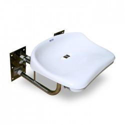 Siodełko prysznicowe SPU uchylne ze stali nierdzewnej Set-pon