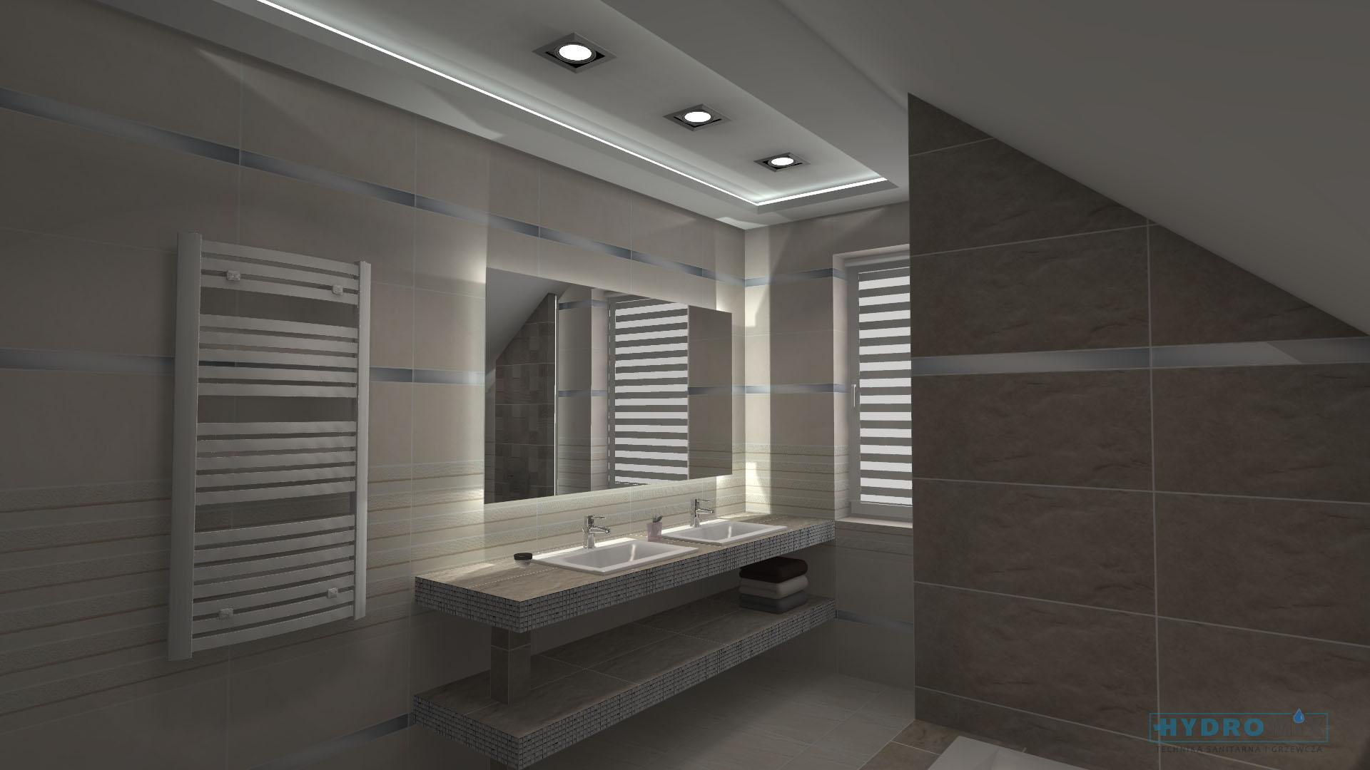 Projekty łazienek Hydromix