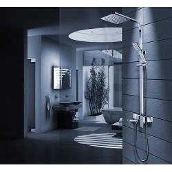 Zestaw prysznicowy Navaro z obrotową wylewką Rea