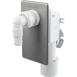 Syfon pralkowy podtynkowy nierdzewny APS3 Alcaplast