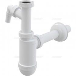 """Półsyfon umywalkowy ⌀40 z przyłączem i nakrętką 5/4"""" A430P Alcaplast"""