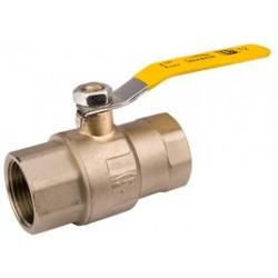 """Zawór gazowy 1/2"""" z gwintem wewn/wewn GZ-10-015 Invena"""