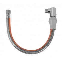 """Przewód elastyczny do gazu 1/2"""" w osłonie z PVC z szybkozłączem GW-20-100 Invena"""