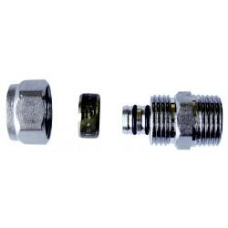"""Złączka do rur PEX z gwintem zewnętrznym 1/2""""x16 PA-01-002 Invena"""