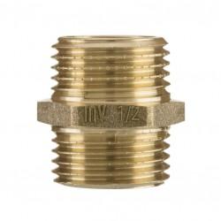 """Nypel mosiężny 1/2"""" ZM-03-015 Invena"""