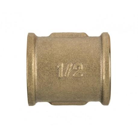 "Mufa mosiężna 1/2"" ZM-04-015 Invena"