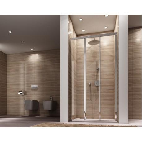 Drzwi prysznicowe rozsuwane Alex 100x190