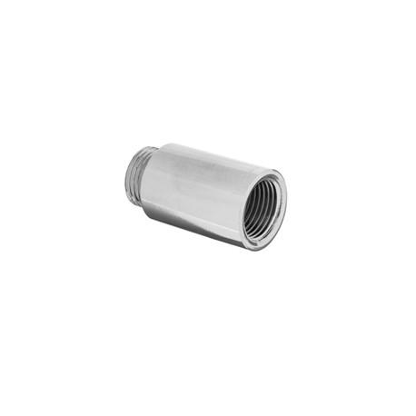 """Przedłużka chromowana 1/2""""x15mm ZC-11-215 Invena"""