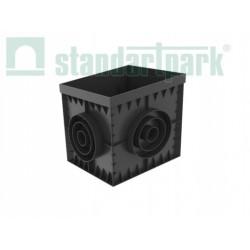 STUDZIENKA PLASTIKOWA POLYMAX BASIC 300x300 z koszem STANDARDPARK