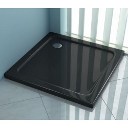 Brodzik 90x90 Perfect Space Ego5 Czarny/Black Rea