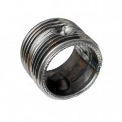 Nypel stalowy 1' do grzejnika aluminiowego