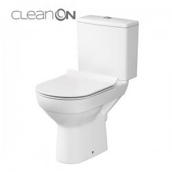 Kompakt WC CleanOn z deską wolnoopadającą biały K35-037 City Cersanit