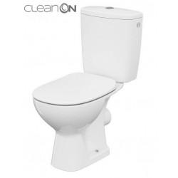 Kompakt WC Arteco CleanOn z deską wolnoopadającą K667-069 Cersanit