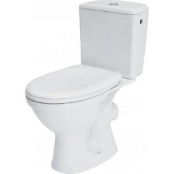 Zestaw WC kompakt z deską biały K03-014 Merida Cersanit