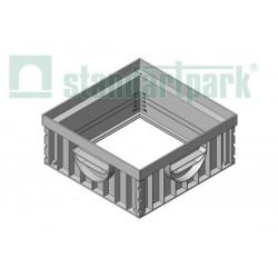 Nadbudowa do wpustu ściekowego 300x300 H12 mm Standartpark