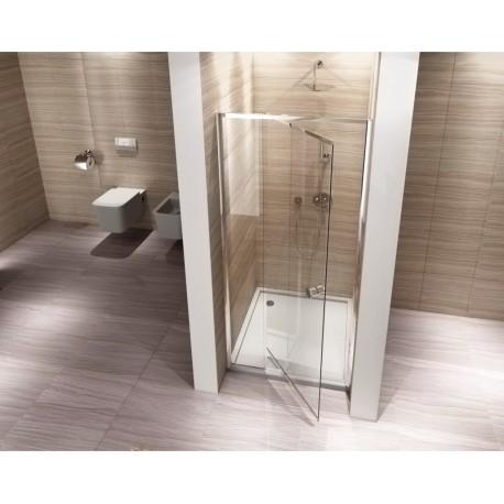 Drzwi prysznicowe rozsuwane 80-100x190 Viktor
